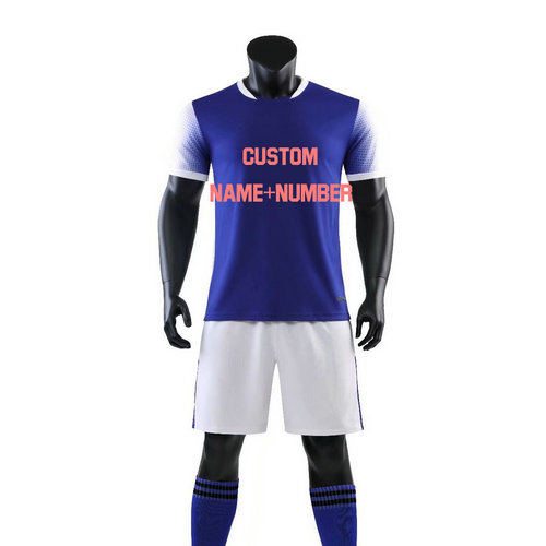 New Professional Custom Youth Soccer Jerseys Set Uniforms Football Clothes Sport