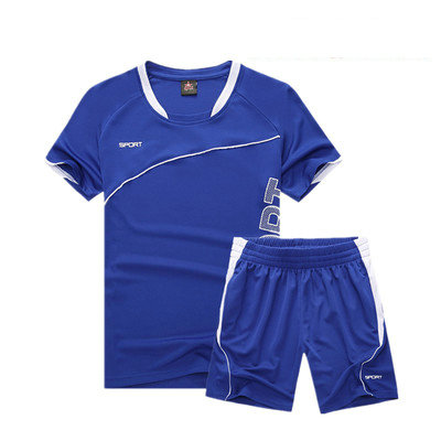 Soccer Set Kids Sports Costumes Clothes Football Kits for Girls Summer Children
